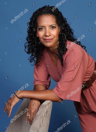 """Zabryna Guevara poses for a portrait to promote the television series """"Emergence"""" on day one of Comic-Con International, in San Diego"""
