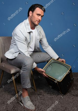 "Owain Yeoman poses for a portrait to promote the television series ""Emergence"" on day one of Comic-Con International, in San Diego"