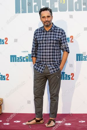 Jorge Drexler poses during the premiere of the film 'The Secret Life of Pets 2', in Madrid, Spain, 18 July 2019.