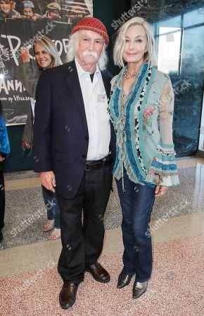 David Crosby and Bo Derek