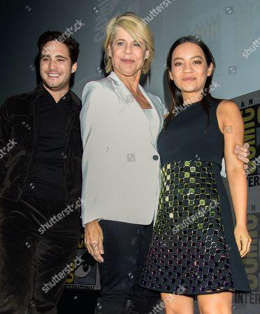 Diego Boneta, Linda Hamilton and Natalia Reyes