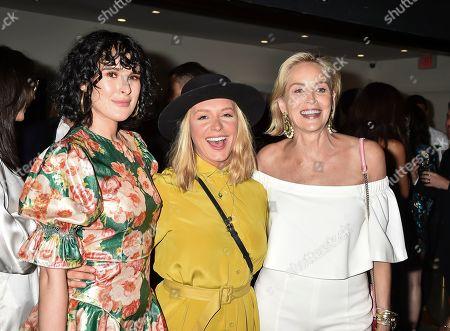 Rumer Willis, Annie Starke and Sharon Stone