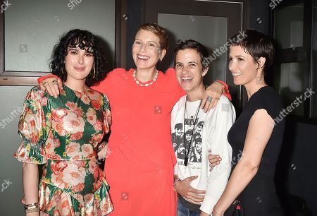 Stock Image of Rumer Willis, Dree Hemingway, Samantha Ronson and Cassandra Grey