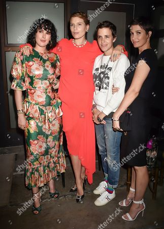 Rumer Willis, Dree Hemingway, Samantha Ronson and Cassandra Grey