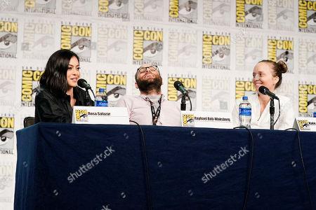 Rosa Salazar, Raphael Bob-Waksberg and Kate Purdy