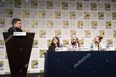 Ben Travers, Rosa Salazar, Raphael Bob-Waksberg and Kate Purdy