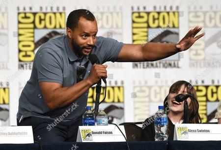 "Editorial photo of 2019 Comic-Con - ""Emergence"" Panel, San Diego, USA - 18 Jul 2019"