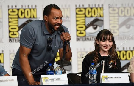 """Editorial picture of 2019 Comic-Con - """"Emergence"""" Panel, San Diego, USA - 18 Jul 2019"""