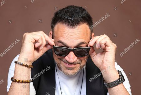 """Aleks Paunovic poses for a portrait to promote the television series """"Van Helsing"""" on day one of Comic-Con International, in San Diego"""