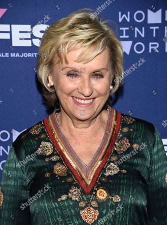 "Founder and CEO of Tina Brown Live Media and Women in the World, Tina Brown, attends the 51Fest opening night screening of ""Kathy Griffin: A Hell of a Story"" at SVA Theatre, in New York"
