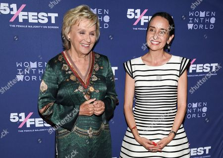 "Tina Brown, Raphaela Neihausen. Xxx attends the 51Fest opening night screening of ""Kathy Griffin: A Hell of a Story"" at SVA Theatre, in New York"