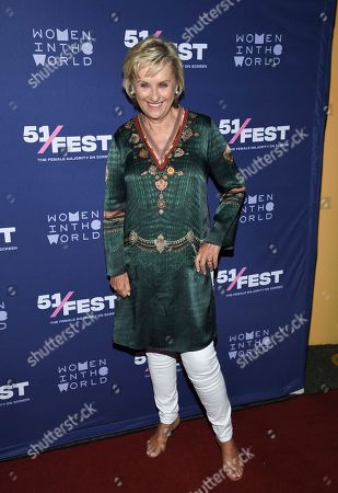 "Founder and CEO of Tina Brown Live Media/Women in the World, Tina Brown, attends the 51Fest opening night screening of ""Kathy Griffin: A Hell of a Story"" at SVA Theatre, in New York"