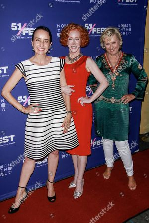 Raphaela Neihausen, Kathy Griffin and Tina Brown