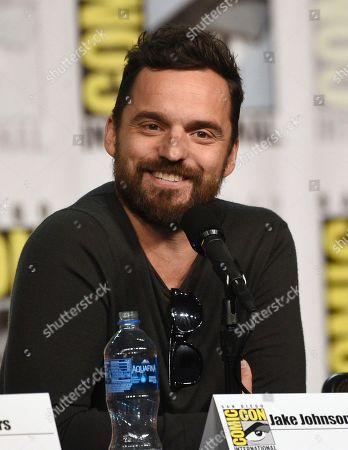 """Jake Johnson attends the """"Stumptown"""" panel on day one of Comic-Con International, in San Diego"""
