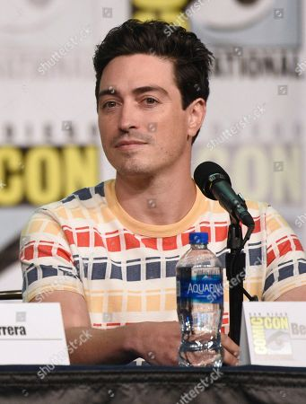 """Ben Feldman attends the """"Superstore"""" panel on day one of Comic-Con International, in San Diego"""