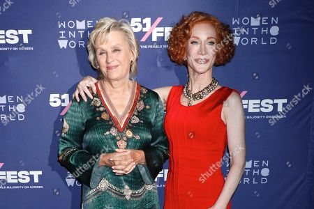 Tina Brown and Kathy Griffin
