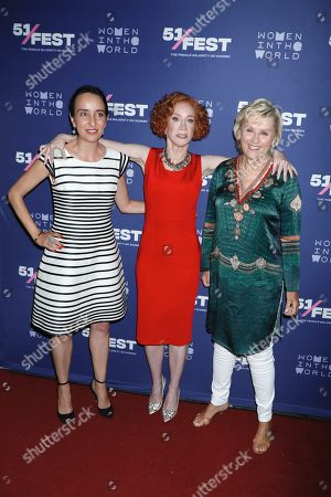 Stock Image of Raphaela Neihausen, Kathy Griffin and Tina Brown