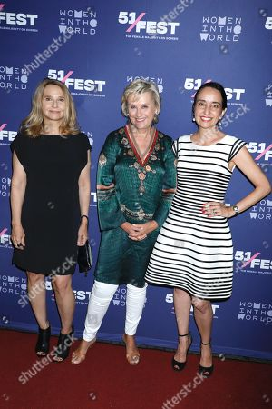 Anne Hubbell, Tina Brown and Raphaela Neihausen