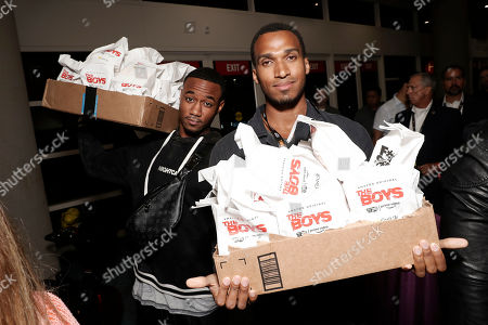 Jessie T. Usher, Nathan Mitchell and 'The Boys' Cast Surprises Fans at Comic-Con