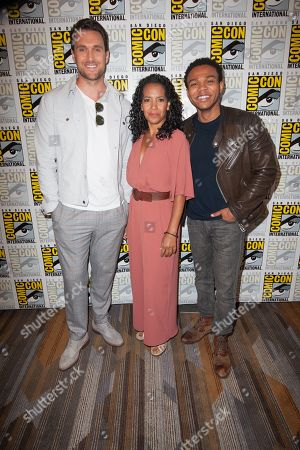Owain Yeoman, Zabryna Guevara and Robert Bailey Jr.