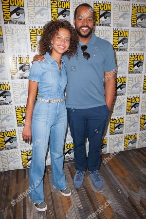 Ashley Aufderheide and Donald Faison