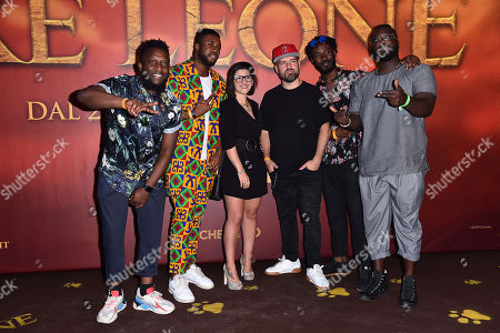 Editorial picture of 'The Lion King' film screening, Arrivals, Milan, Italy - 18 Jul 2019