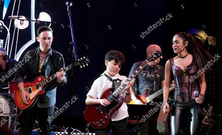 Ben Goldsmith, Jayden Tatasciore and Alanis Sophia