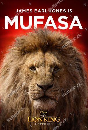 The Lion King (2019) Poster Art. Mufasa (James Earl Jones)