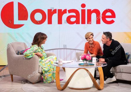Lorraine Kelly, Vicky McClure and Perry Fitzpatrick