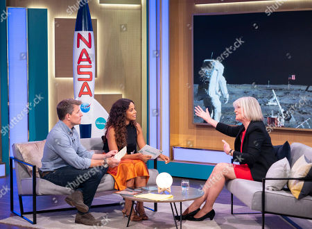 Stock Image of Ben Shephard, Rochelle Humes and Jane Green