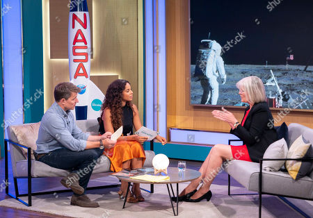 Stock Photo of Ben Shephard, Rochelle Humes and Jane Green