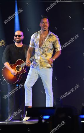 Editorial image of Premios Juventud, Latin Awards, Coral Gables, USA - 18 Jul 2019