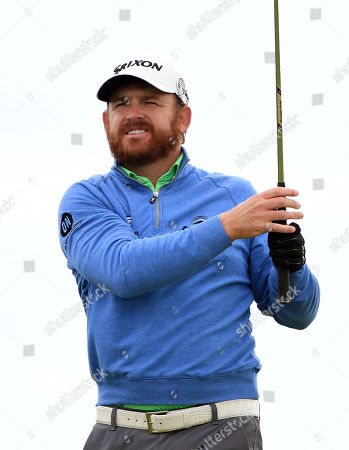 JB Holmes of the US in action during the second round of the British Open Golf Championship at Royal Portrush, Northern Ireland, 19 July 2019.