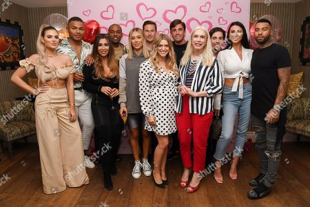 Megan Barton Hanson, Nathan Henry, Lauren Goodger, Paul Brunson, Demi Sims, Lee Ryan, Anna Williamson, Jack Fincham, Lady Colin Campbell, Tom Read Wilson, Alice Goodwin and Jermaine Pennant
