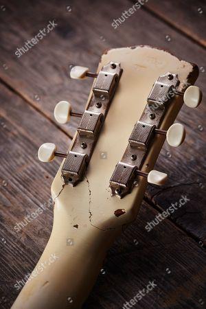Editorial photo of Aria Pro II ES650 SB Electric Guitar - 15 Aug 2018