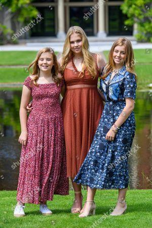 Princess Ariane, Princess Amalia and Princess Alexia