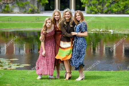King Willem-Alexander, Queen Maxima with children Princess Amalia, Princess Alexia and Princess Ariane  19 Jul 2019