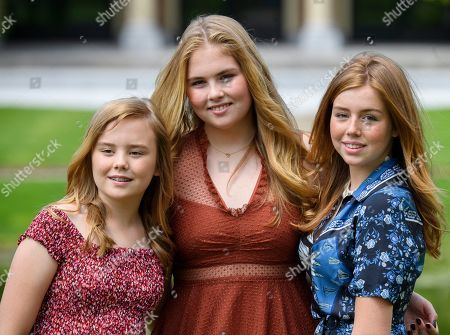 Princess Ariane, Princess Amalia, Princess Alexia