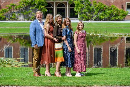 Editorial photo of Dutch Royal family summer photocall, Huis ten Bosch Palace, The Hague, Netherlands - 19 Jul 2019
