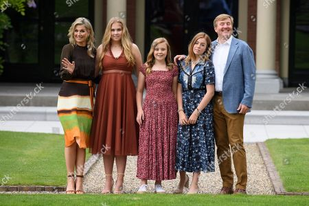 Editorial picture of Dutch Royal family summer photocall, Huis ten Bosch Palace, The Hague, Netherlands - 19 Jul 2019