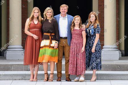 Dutch Royal family summer photocall, The Hague