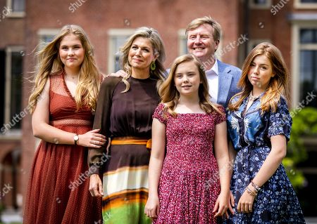 Editorial picture of Summer photo session royal family, The Hague, Netherlands - 19 Jul 2019