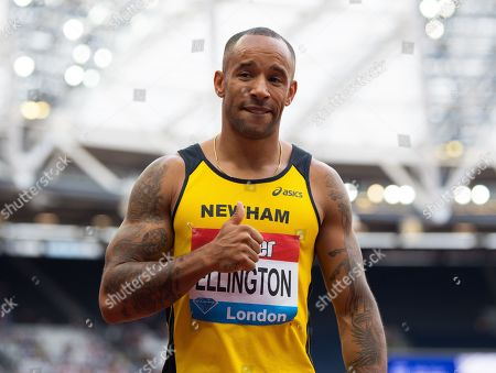 Stock Picture of James Ellington races for the first time since his 2017 accident where he broke his leg in two places and suffered a broken pelvis when he was involved in a motorbike accident