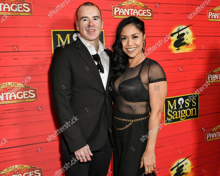Stock Image of Justin Best and Anthea Neri