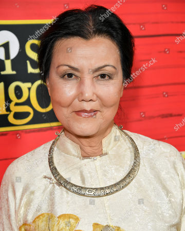 Editorial image of 'Miss Saigon' show premiere, Arrivals, The Hollywood Pantages Theatre, Los Angeles, USA - 18 Jul 2019