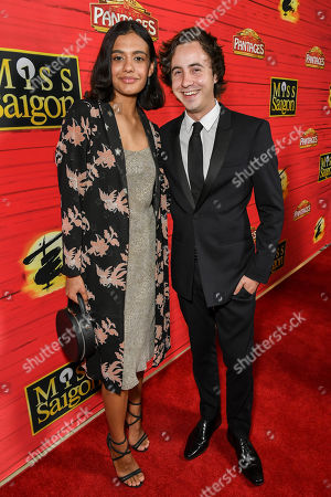 Madeleine Madden and Nicholas Coombe