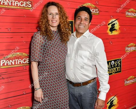 Stock Image of Ursula Whittaker and Oscar Nuñez