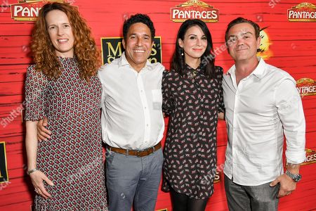 Ursula Whittaker, Oscar Nuñez, Beth Dover and Joe Lo Truglio