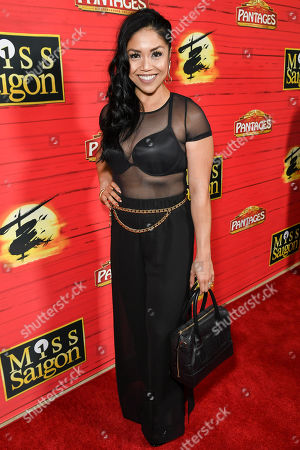 Editorial photo of 'Miss Saigon' show premiere, Arrivals, The Hollywood Pantages Theatre, Los Angeles, USA - 18 Jul 2019