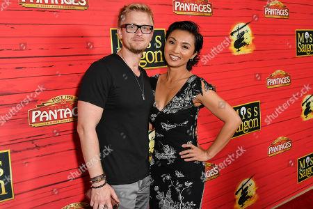 Anthony Fedorov and Jennifer Paz
